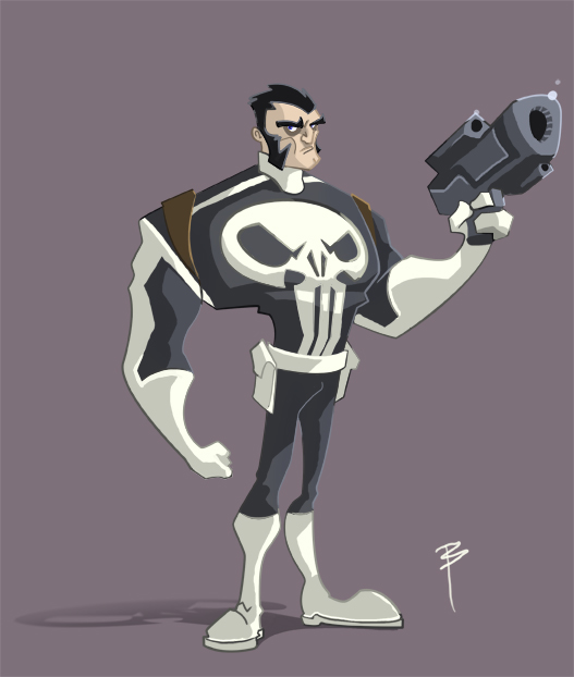 Punisher by Bean