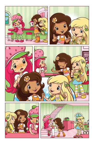 Strawberry Shortcake Comic