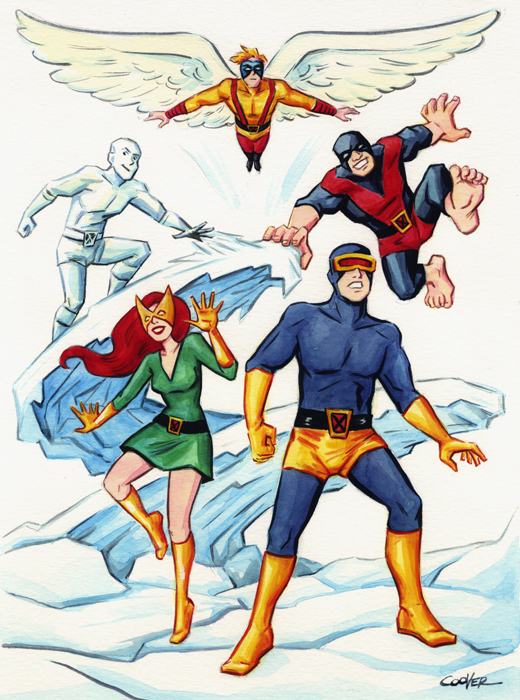Silver Age X Men by Colleen Coover