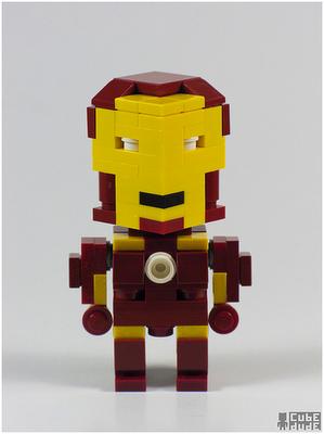 Iron Man LegoCube