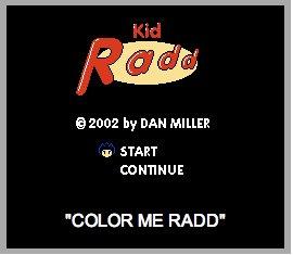 Kidd Rad Comic