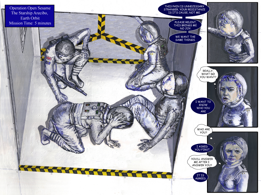 Odyssey Science Fiction Comic