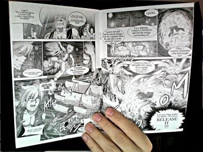 Tale of Aeria manga comic