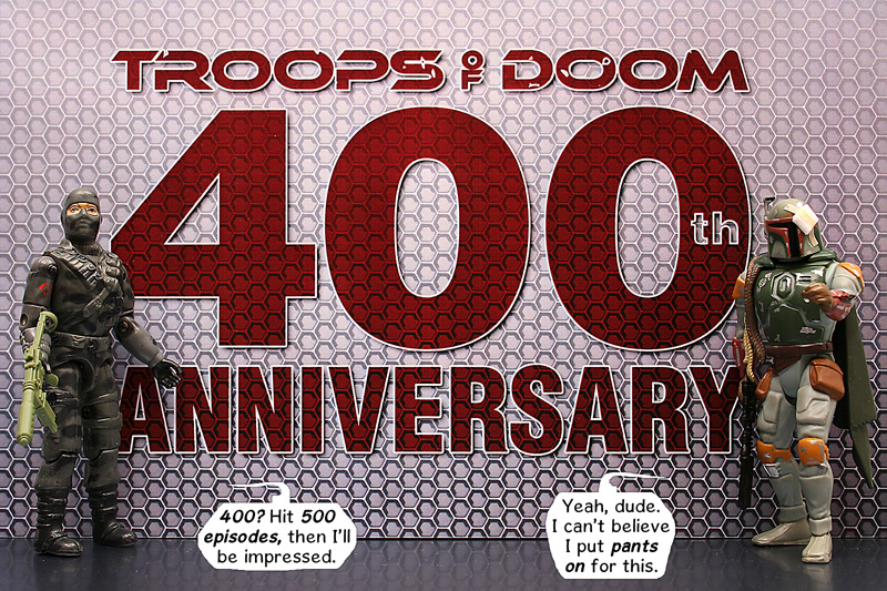 Troops of Doom reaches 400 strips