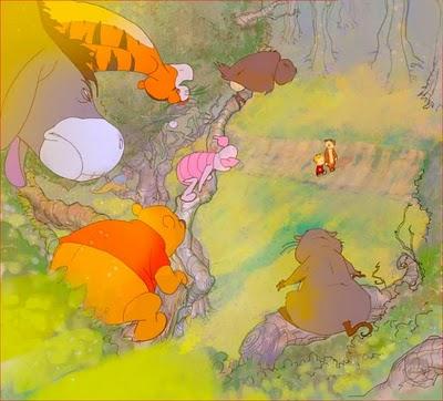 Pooh vs Hobbes